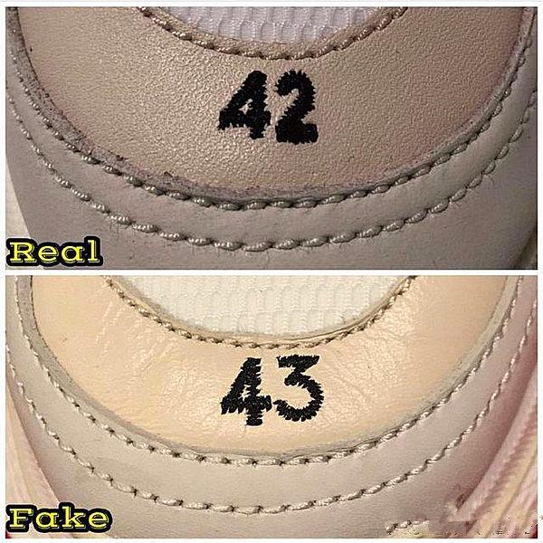 real vs fake triple s